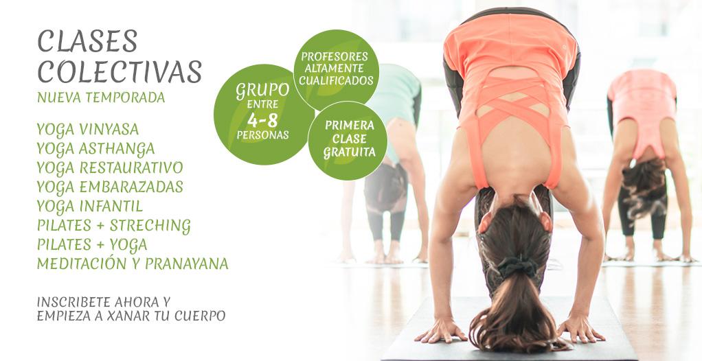 Clases de yoga en Villalba